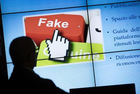L'82% degli italiani non sa riconoscere una fake news © ANSA