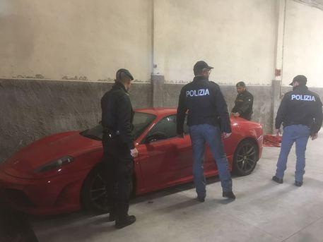 Catania, ritrovata Ferrari sotto sequestro$