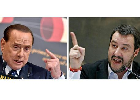 Salvini replica a Berlusconi: