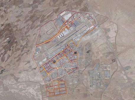 Mappa fitness svela basi militari