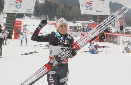 Elisa Brocard conclude al 17° posto il Tour de Ski