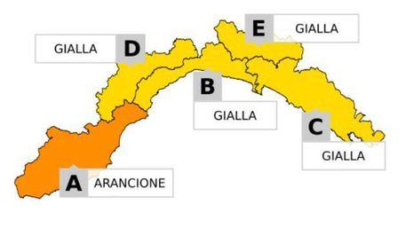 Allerta meteo per temporali, codice giallo su tutta la @RegioneLazio