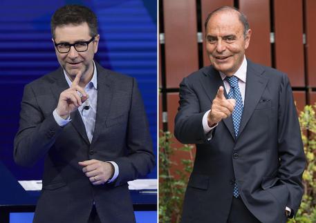 Tripletta di Vespa: Di Maio, Renzi e Berlusconi a