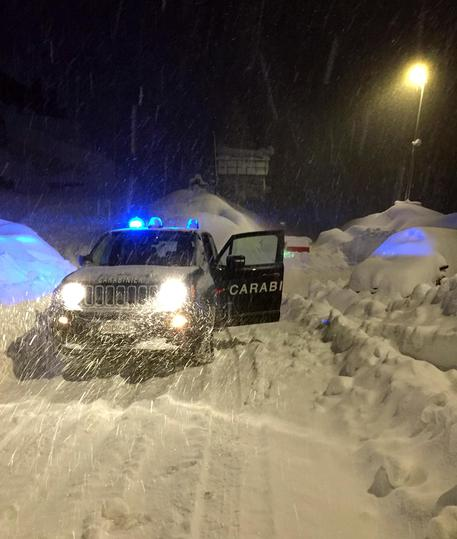 Olympic Village Apartments: Avalanche Hits Sestriere Building, Olympic Village