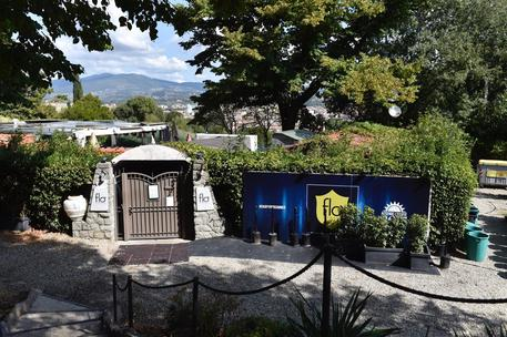 Il luogo dove i carabinieri sarebbero intervenuti per disordini in una discoteca a Firenze, 8 settembre 2017. Due ragazze americane, che due carabinieri si erano offerti di accompagnare a casa, hanno sporto denuncia accusandoli di averle violentate © ANSA