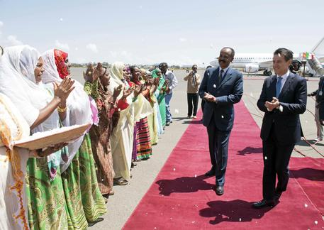 Conte visita l'Etiopia: