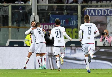 Cagliari, pari in rimonta con Fiorentina