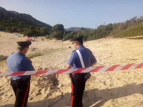Ritrovato scheletro in spiaggia a Chia