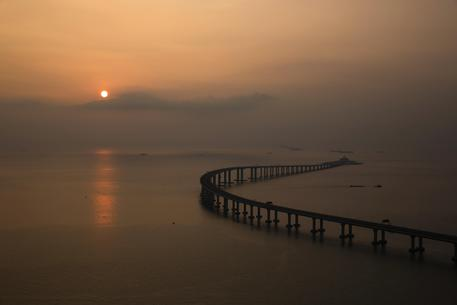 Hong Kong Zhuhai Macau Bridge © AP