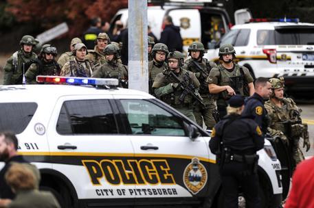Usa: sparatoria sinagoga Pittsburgh © AP