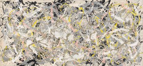Jackson Pollock ,  la celeberrima tela