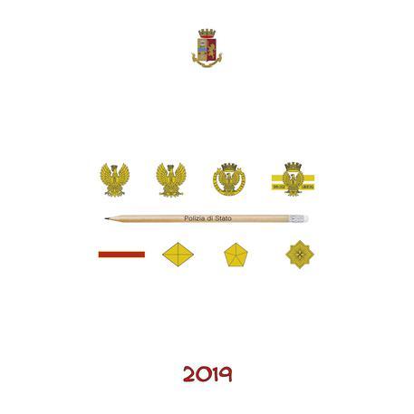 Simbolo De Calendario.Calendario Polizia Fumetti E Nuovi Simboli Per Il 2019