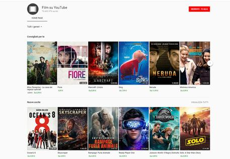 Youtube vuole battere Netflix: al via lo streaming di film gratuitamente