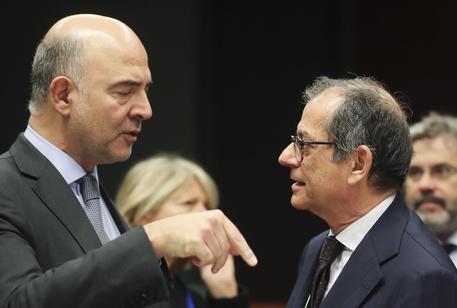 Pierre Moscovici e Giovanni Tria © ANSA