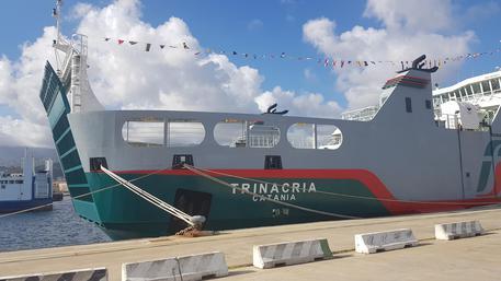Stretto di Messina, inaugurata nuova nave Trinacria$