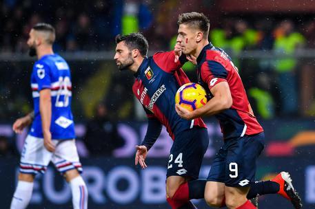 Derby Genova in parità, è finito 1-1 32c437c4f2f0ab75bf381430fc81f61e