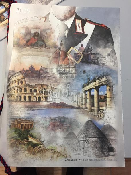 Calendario Storico Carabinieri 2019.Carabinieri Il Calendario 2019 Piemonte Ansa It