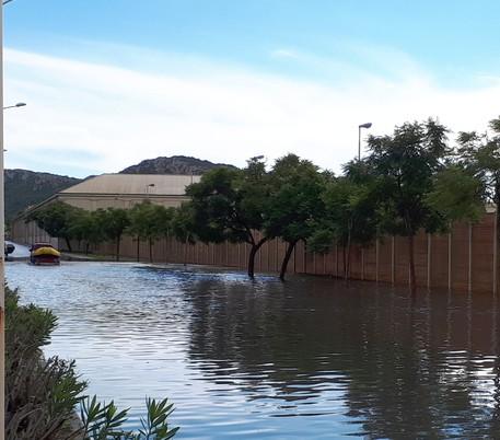 Bufera nell'Oristanese, danni a campagne - Particolarmente colpiti Arborea, Terralba e Marrubiu