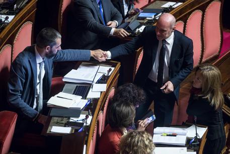 Senato, con 160 sì, il decreto sicurezza bis è legge