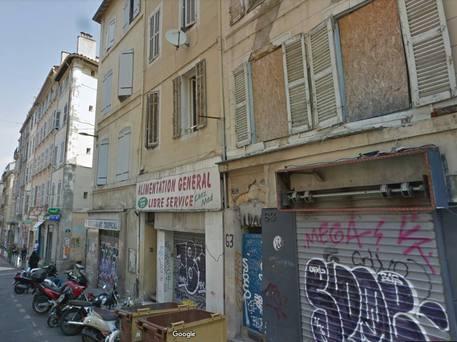 Rue d'Aubagne nel primo arrondissement di Marsiglia