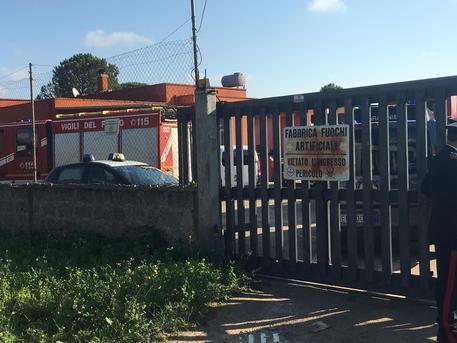 L'esterno della fabbrica dove è accaduto l'incidente © ANSA