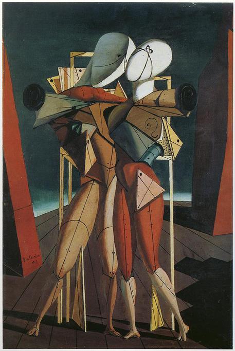 Risultati immagini per De Chirico, il suo genio e Nietzsche. In libreria per La nave di Teseo il saggio di Riccardo Dottori