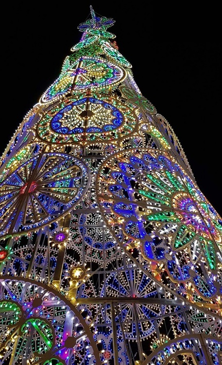 Centraline Per Luci Natalizie.Natale A Firenze 32 Alberi E Luci D Arte Toscana Ansa It