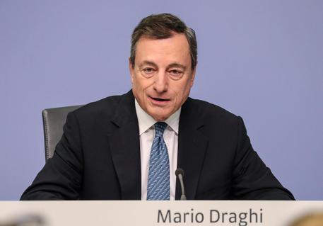 Mario Draghi, l'economia europea è meno florida del previsto
