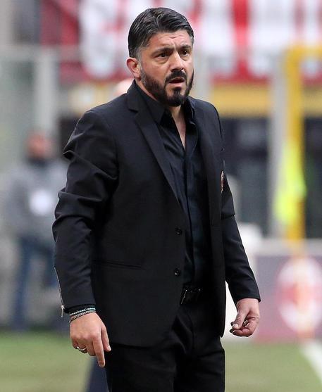 Gattuso show sul Milan: