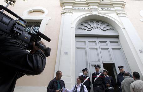 L'ingresso del tribunale di Tivoli in una foto d'archivio © ANSA
