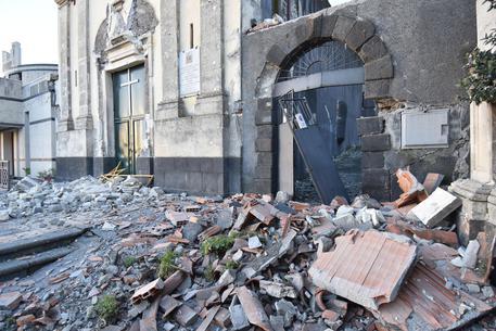 Etna: terremoto magnitudo 4.8 a nord di Catania © ANSA