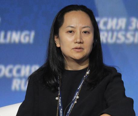 Concessa a Lady Huawei la libertà su cauzione