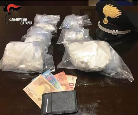 Catania, con se aveva 1,4 kg di cocaina: arrestato figlio di boss$