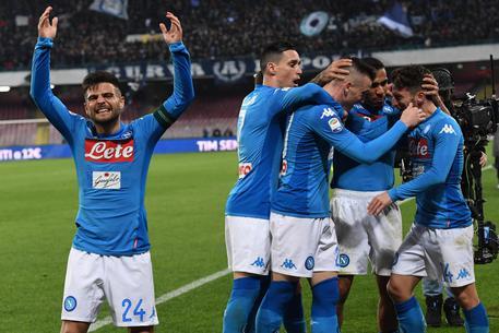 Napoli-Lazio 4-1, azzurri tornano primi 5edff583b0f313e159673c624581cc08