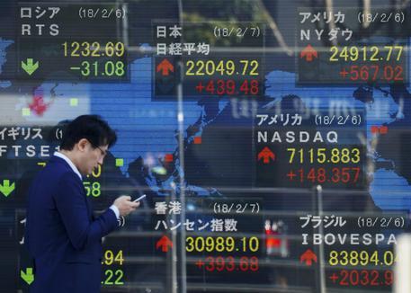 Borsa: Tokyo, apertura in netto calo Ultima Ora ANSA
