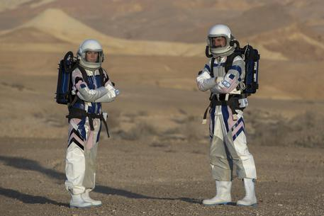 Israeli astronauts on simulated mission to Mars © EPA