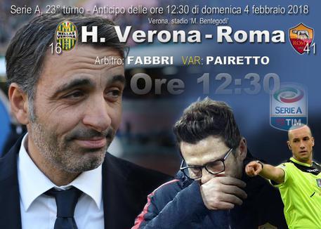 Under basta alla Roma: 0-1 all'Hellas Verona e -1 dall'Inter