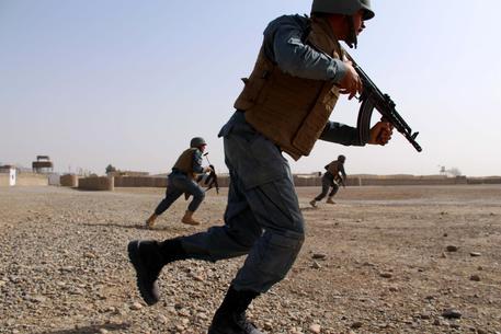 Polizia afgana in una foto di archivio © EPA