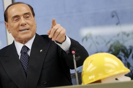 Silvio Berlusconi all'Ance © ANSA