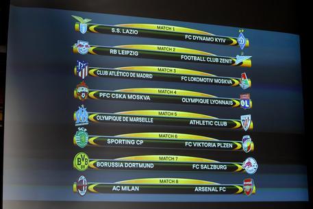 Calendario Europa League Ottavi.Europa League Pericolo Arsenal Per Il Milan Lazio Con La