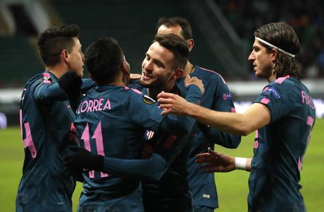 Europa League, L'Atletico Madrid schianta il Lokomotiv e vola ai quarti