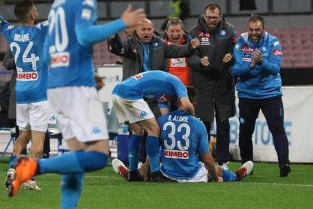 Il Napoli vince, ora è a -2 dalla Juve C730de6004d8faaade1702e67294ff4d