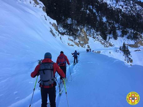 Guide alpine © Ansa