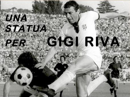 Una statua per Gigi Riva, appello a Lamorgese