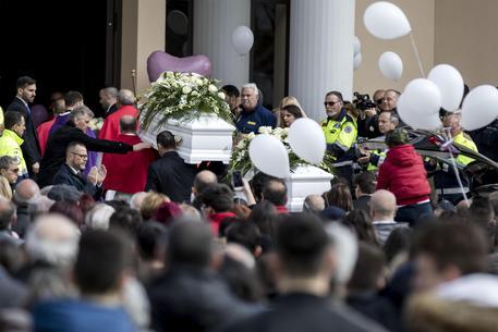 Strage di Latina, i funerali di Alessia e Martina ANSA/ MASSIMO PERCOSSI © ANSA