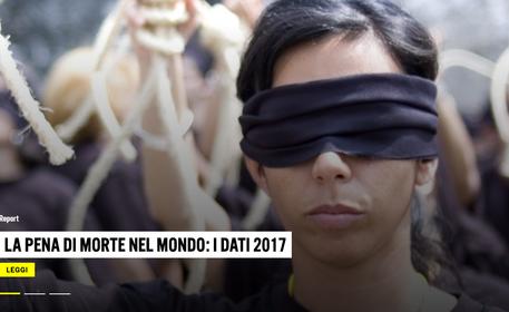 Pena morte, rapporto Amnesty: condanne ed esecuzioni in calo -3