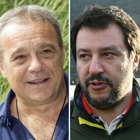 Claudio Amendola elogia Matteo Salvini