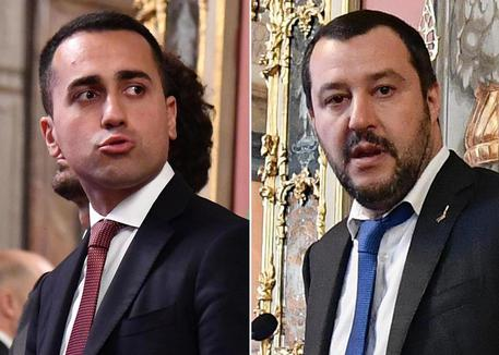 Di Maio e Salvini al Quirinale (combo) [ARCHIVE MATERIAL 20180420 ] © ANSA