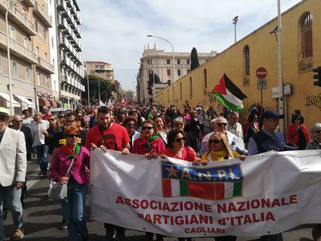 25 Aprile: tradizionale corteo a Cagliari