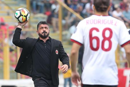 Milan, il pugno duro di Gattuso: